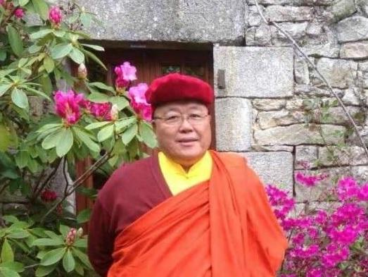 Visita de Vn. Dubpön Ngawang, representante del Gyalwang Drukpa en Europa