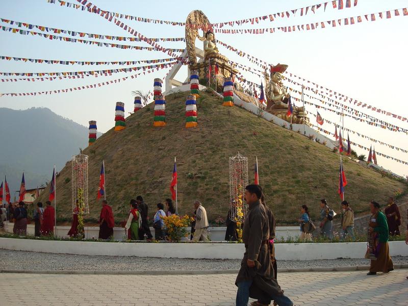Amitabha Mountain Kathmandu. Nepal.