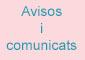 Avisos i comunicats